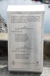 cerimonia de homenagem à Marinha Portuguesa
