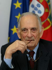 Adriano Moreira, foto de Ramiro de Jesus, 18nov2003