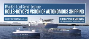IMarEST Lord Kelvin Lecture - Rolls-Royce's vision of autonomous shipping 64
