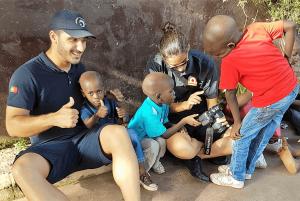 D CARLOS I: dois meses e meio em África 47