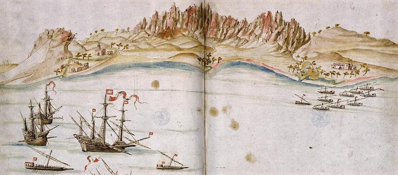 Grandes operações navais da História Militar Ibérica, na Escola Naval