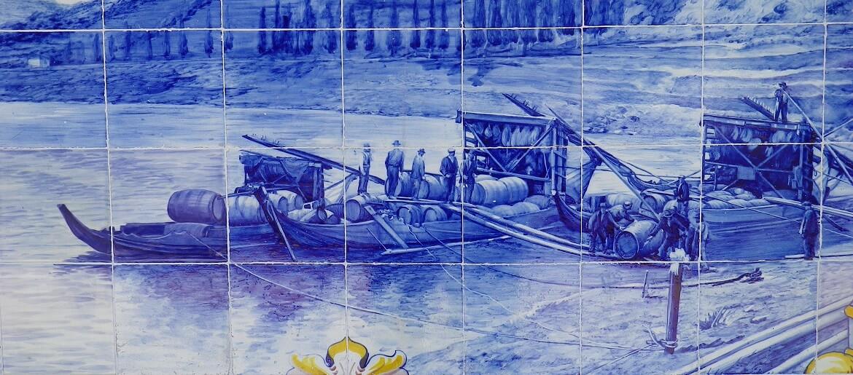 Iconografia do Barco Rabelo na azulejaria