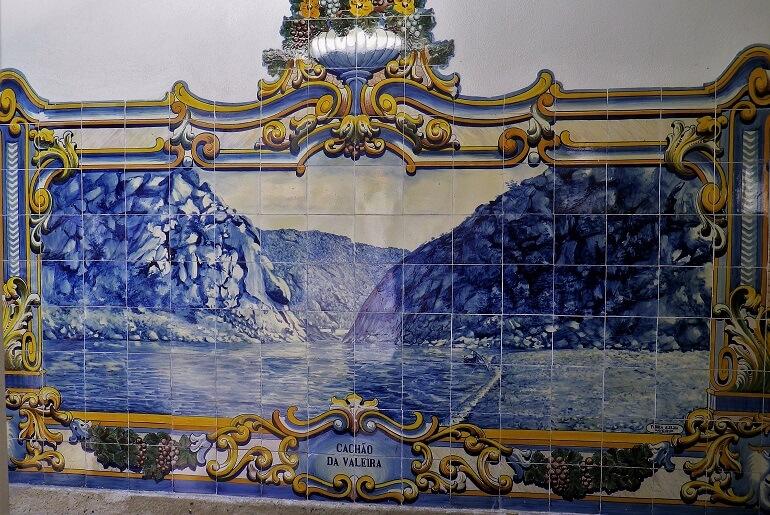 Iconografia do Barco Rabelo na azulejaria 17