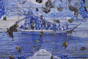 Iconografia do Barco Rabelo na azulejaria 50