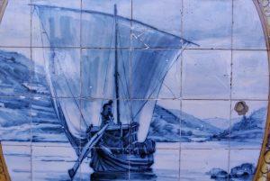 Iconografia do Barco Rabelo na azulejaria 53