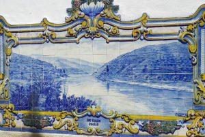 Iconografia do Barco Rabelo na azulejaria 55
