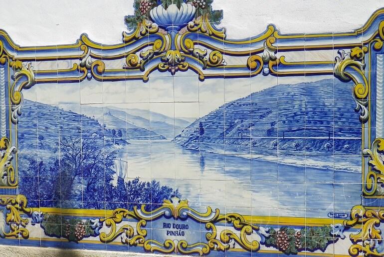 Rio Douro no Pinhão (foto do autor)