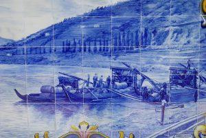 Iconografia do Barco Rabelo na azulejaria 56