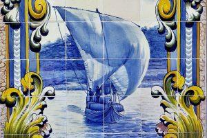 Iconografia do Barco Rabelo na azulejaria 57
