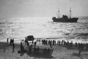 revistademarinha, cuf, acidente, marinha mercante, leixões, salvamento marítimo, francelos, mar, atlântico, navio,
