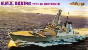 modelismo, plastic kit, HMS Daring, cyberhobby, rui matos, revistademarinha