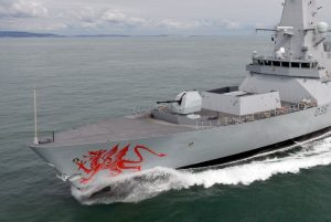 revistademarinha, hms dragon, red dragon, dragão vermelho, destroyer, royal navy