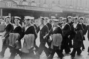 sailors, royal navy, marinheiros ingleses, revistademarinha, 1940, segunda guerra mundial, 2GG
