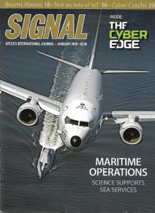 SIGNAL Magazine, AFCEA, communications, maritime, P-8A Poseidon, USS ZUMWALT