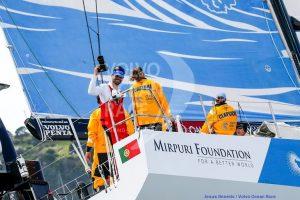 Mirpuri Foundation for a better world, revista de marinha, volvo ocean race, vor, auckland, regata, volta ao mundo, vela desportiva
