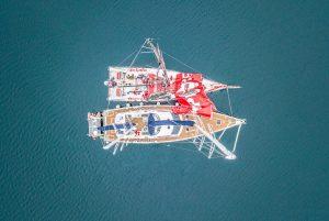 Cabo Horn, marina de chile, vor, volvo, mar, vela, veleiros, marinero fuentealba, opv, npo, mapfre, kat, repairs, isla de hornos