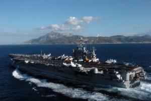 porta-aviões, Harry Truman, us navy, gibraltar, espanha, marrocos, portugal, e.u.a., argélia, reino unido