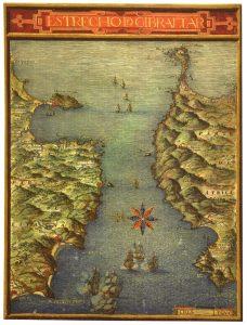 atlas de pedro teixeira, gibraltar, marrocos,