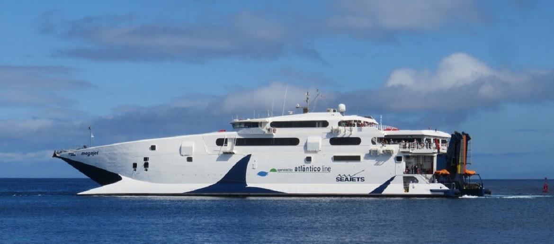 Mega Jet já chegou aos Açores