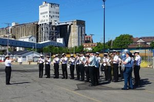 NRP SAGRES, Halifax, Stadacona Band of the Royal Canadian Navy, portuguese vets monument, S, Canada, marinha portuguesa