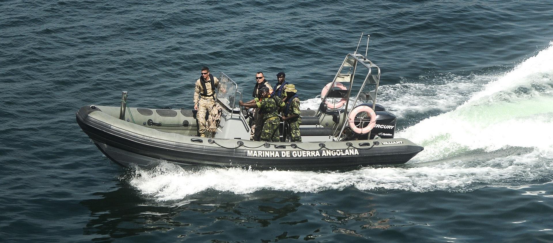 Avanços pretendidos para o domínio situacional marítimo em Angola