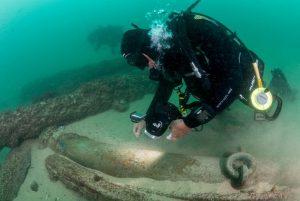descoberta, património cultural marítimo, história, investivagação, arqueologia subaquática, augusto salgado, cinav, escola naval