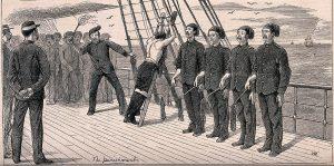 comando no mar, comandante, marinha, navio, hierarquia, artur pires, castigos corporais,