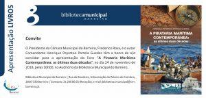 """Apresentação do Livro """"A Pirataria Marítima Contemporânea"""" 35"""