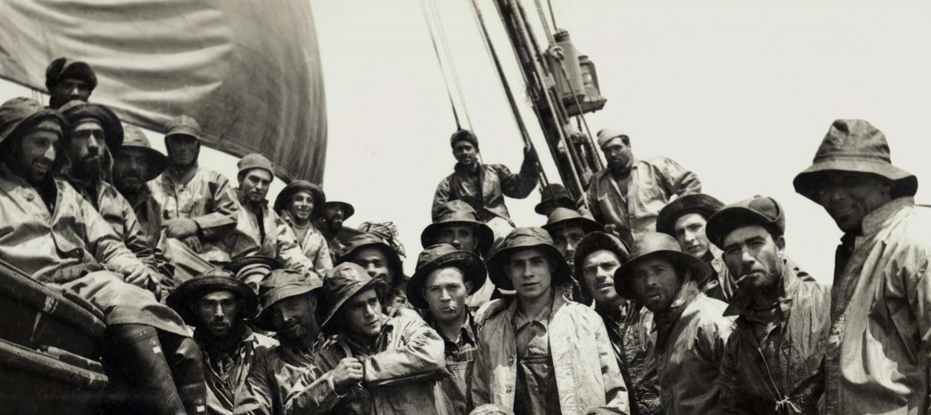A pesca do bacalhau, história, gentes e navios