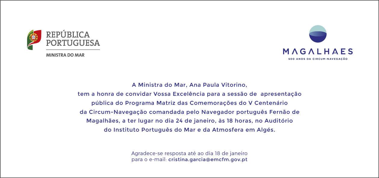 Apresentação pública do Programa Matriz das Comemorações do V Centenário da Circum-Navegação 16
