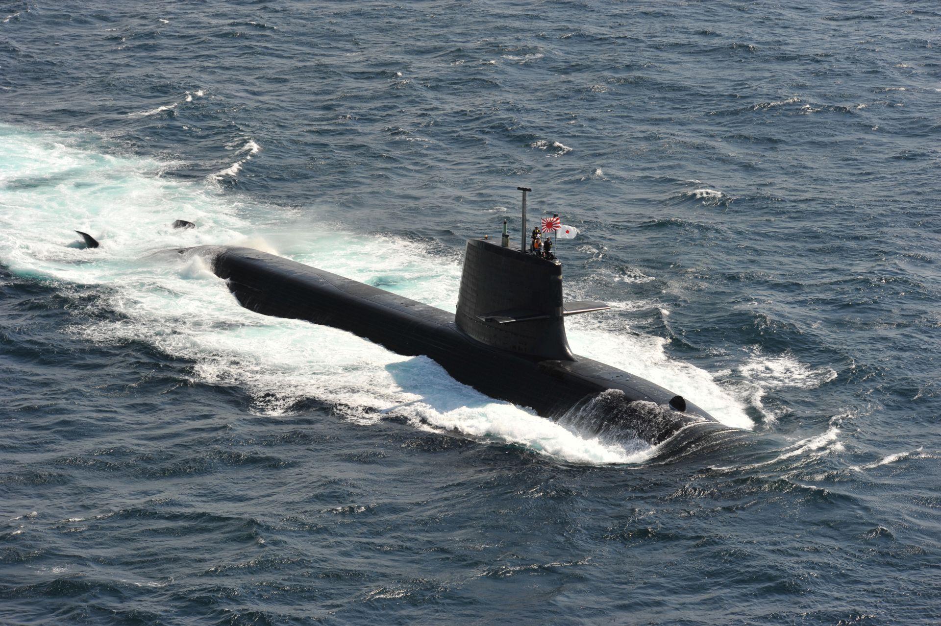 O primeiro submarino com baterias de lítio