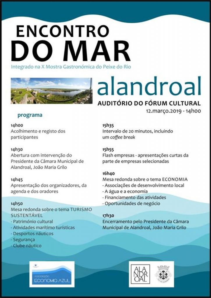 """""""Encontros do Mar"""" no Alandroal - 12 Março 26"""