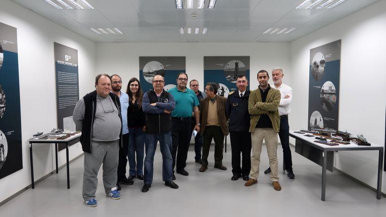 Fotografia de Grupo, embora nem todos os participantes estejam presentes, faltando José Funenga, Filipe Ramires e Luís Laranjeira