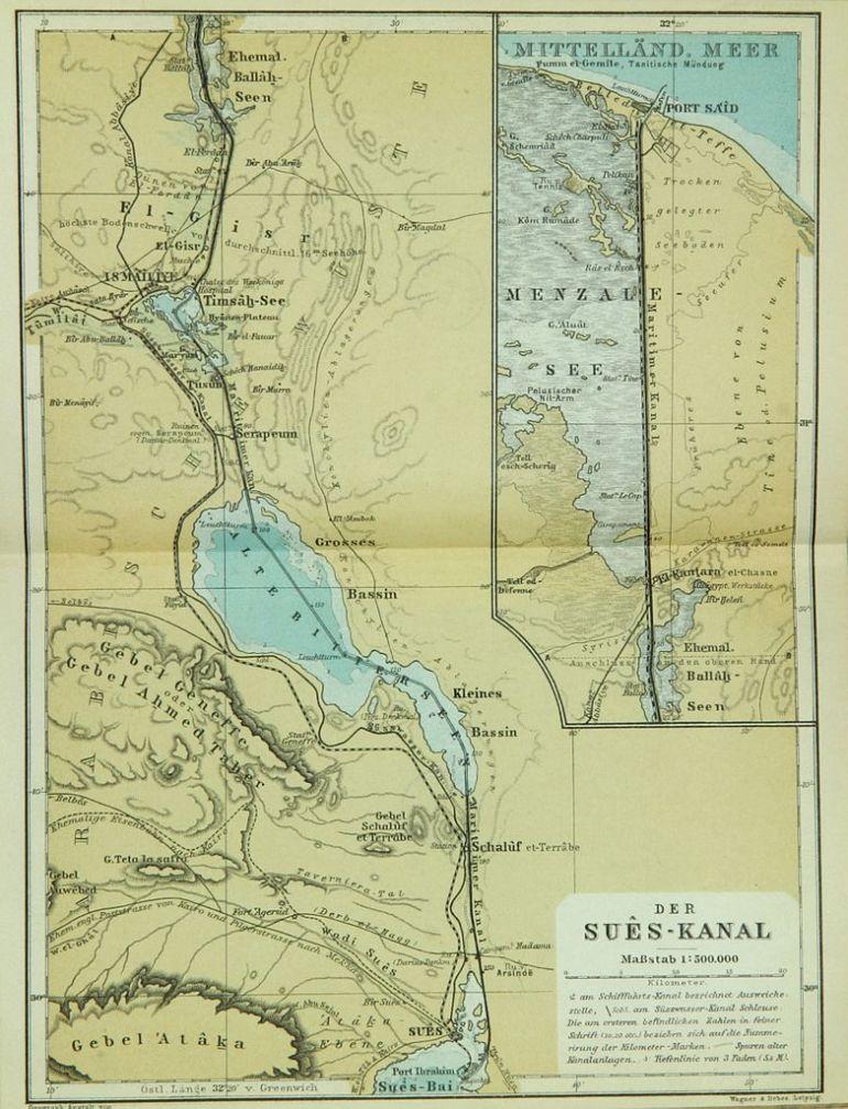 Nos cento e cinquenta anos do Canal do Suez, ou naquele dia 17 32