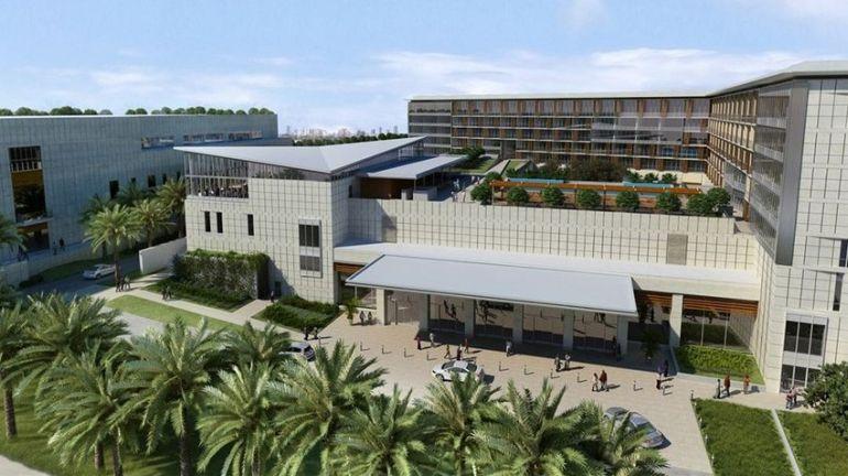 O Kempinski Gold Coast Hotel, onde decorrerá a semana de feira