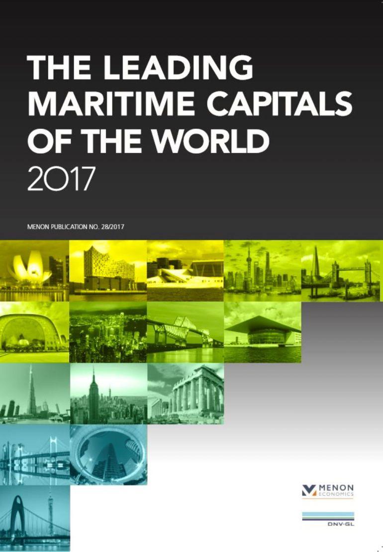 Capa do Relatório das Capitais Marítimas de 2017