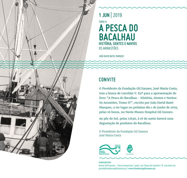 """Apresentação do livro """"A Pesca do Bacalhau - Tomo IV"""" 26"""