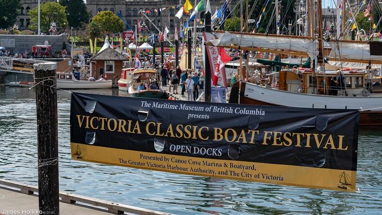 Uma das iniciativas de maior sucesso do Museu é o festival anual de embarcações clássicas (foto de James Holkko)