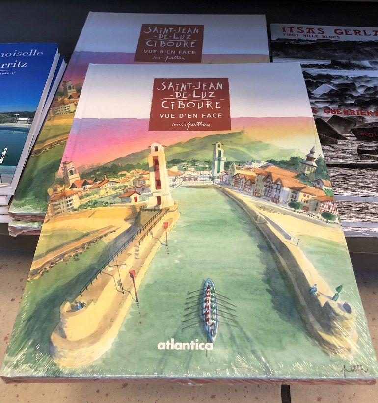 Livros sobre os faróis de Saint-Jean-de-Luz (foto Miguel Machado)
