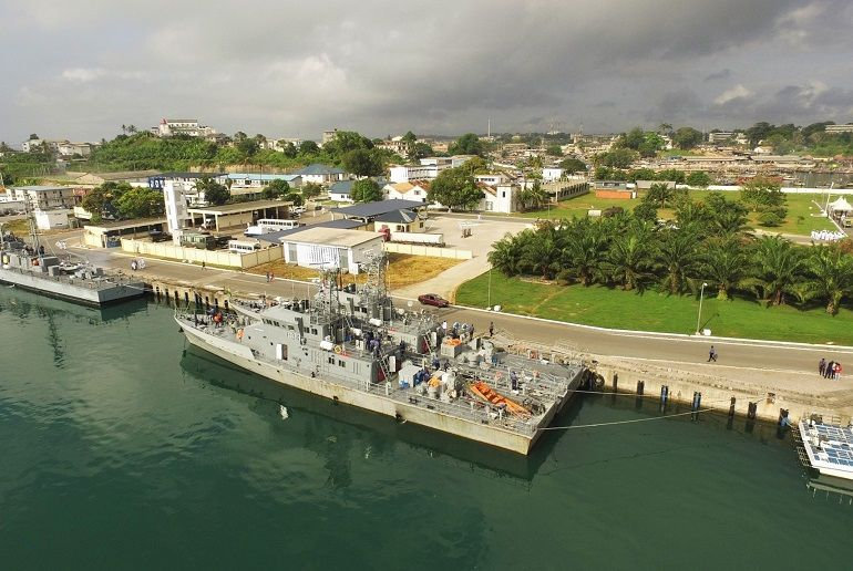 On Tuesday, 23 July 2019 an exclusive site visit to Sekondi Naval Base will be provided to the delegates. (photo Ghana Navy)