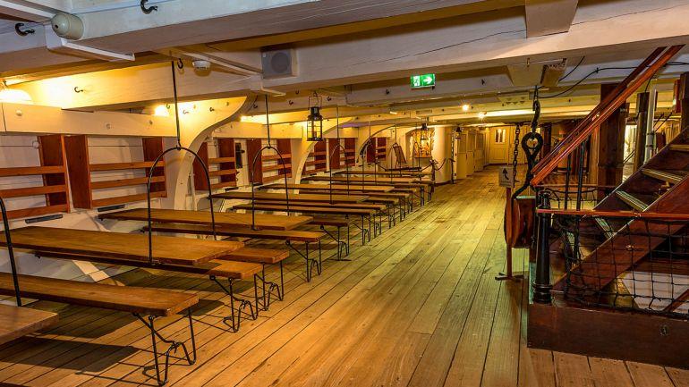 As comemorações do 10º aniversário da Confraria vão ter lugar na fragata D. FERNANDO II E GLÓRIA (foto MGP)