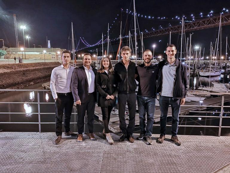 Imagem 1 – O grupo de jovens fundadores do YS Portugal