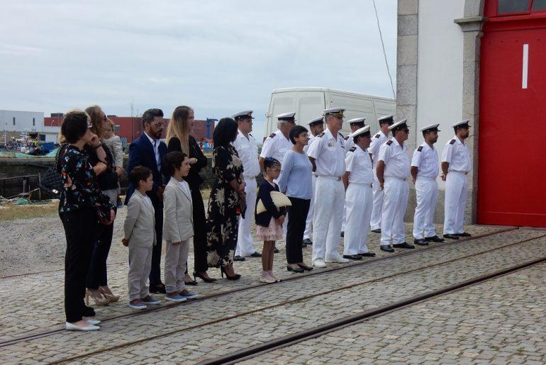 Os familiares de José Fontaínhas e muitos camaradas estiveram presentes na cerimónia (foto do autor)