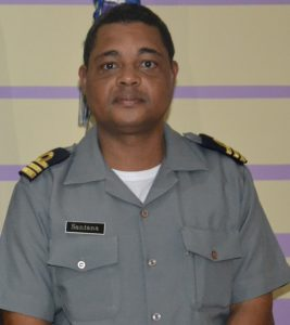 Pedro Querido Santana, commanding officer of Cape Verde's Coast Guard (photo CVCG)