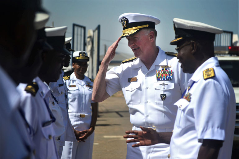IMDEC 2019 interview with ADM Foggo US Navy 56