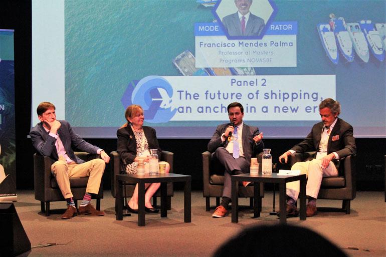 A YS Portugal esteve presente no painel da conferência 7 Seas Summit (foto YSP)