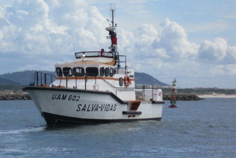 O Salva-Vidas ATENTO, da classe VIGILANTE, que está atribuído à ESV de Viana do Castelo. (foto AMN)