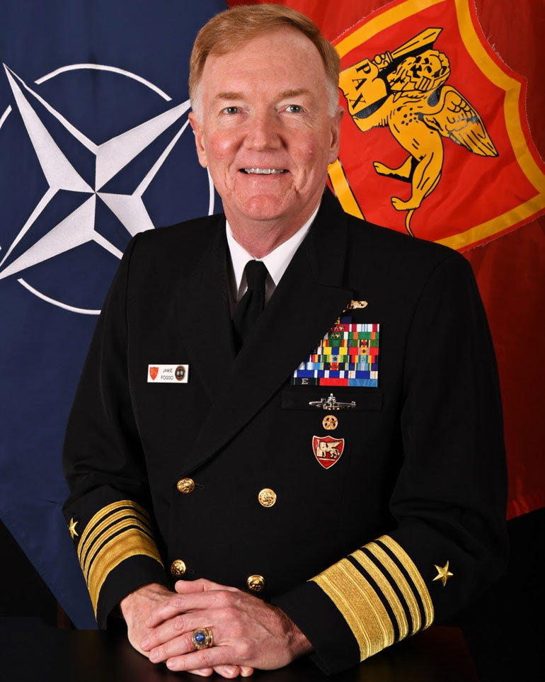 ADM James Foggo III (official US Navy photo