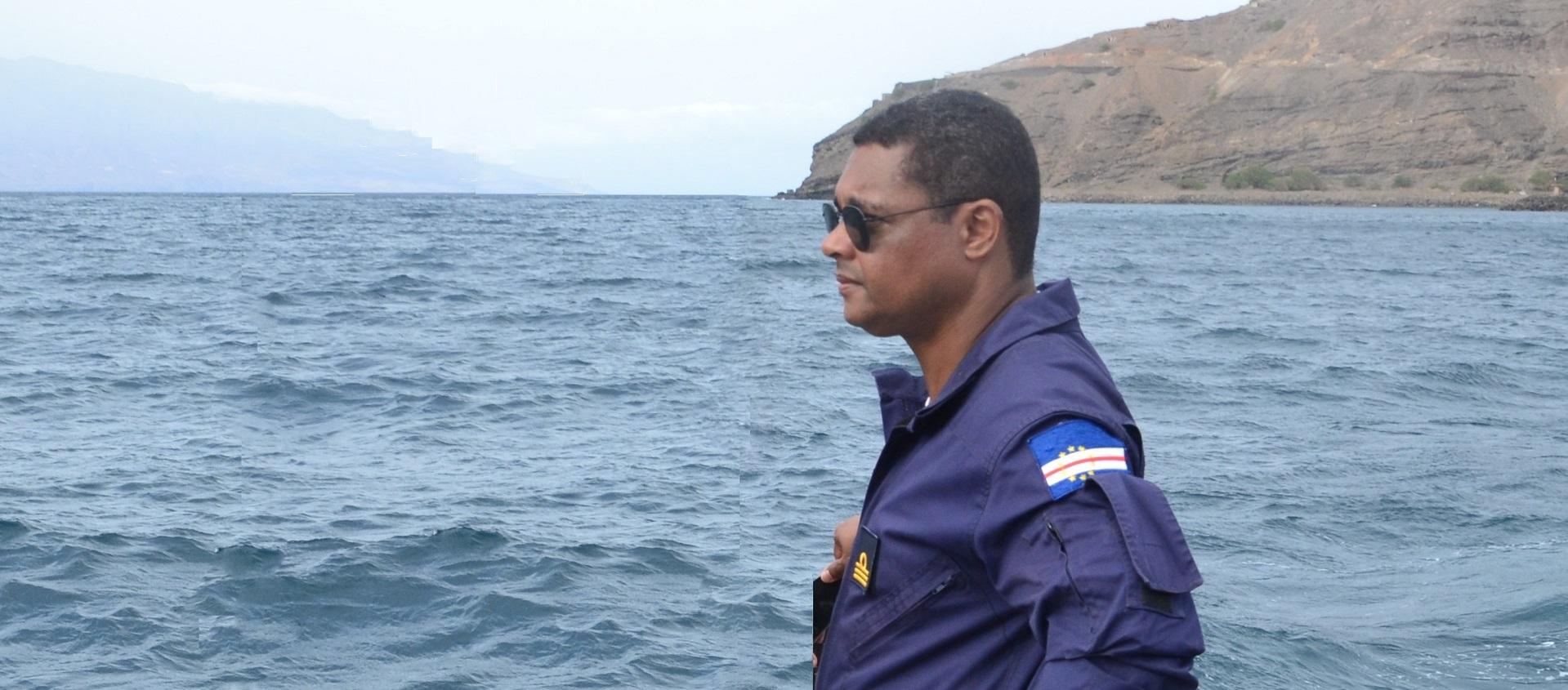 Captain Pedro Santana, CO Cape Verde Coast Guard