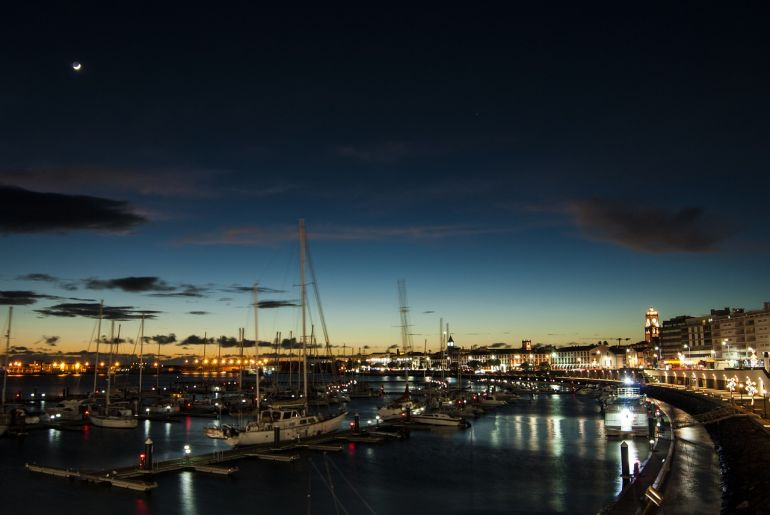 A Marina de Ponta Delgada (foto Sandro Porto)